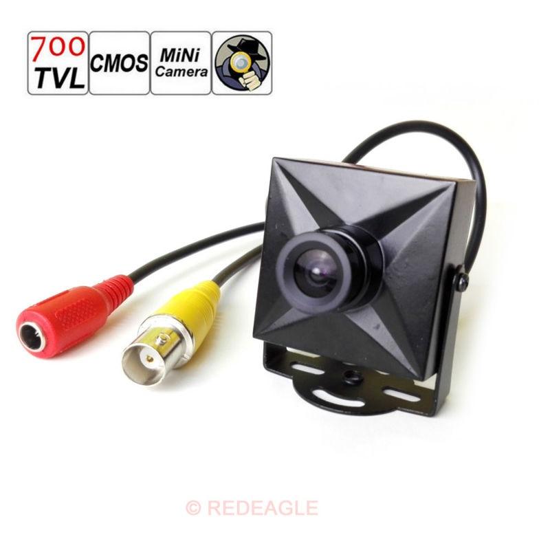 CCTV 700TVL CMOS Wired Mini Micro Digital Security Camera Wide 3.6mm Lens Metal Case все цены