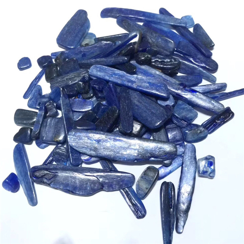 100g Blue Kyanite Blades Rough Natural Mined Gem Bulk Stones Reiki Natural Quartz Crystals Healing Stones Mineral Crystals(China)