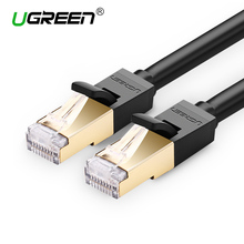 Ugreen Высокая Скорость 10 М 15 М Cat 7 RJ45 Ethernet Lan Сетевой Кабель для Портативных ПК