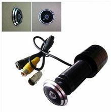 170 Широкоугольный CCD Проводной Мини Дверь Отверстия Глаз Глазок Видео HD 1000TVL Камеры Цвет ВИДЕОНАБЛЮДЕНИЯ Cam