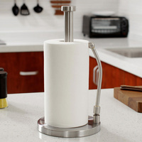 Stainless Steel Toilet Paper Holder Tissue Towel Kitchen Roll Stand Roll Tissure Holder Bathroom Storage Paper