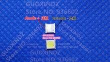 Dongbu LED arkadan aydınlatmalı AT422 yüksek güç LED 1.5W 3V 3535 4040 soğuk beyaz LCD arka işık TV TV uygulaması AT442A1GNE