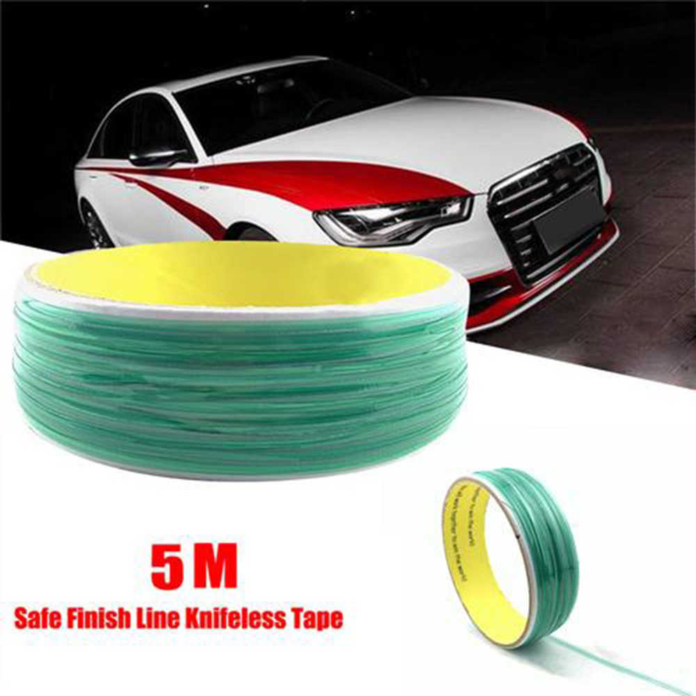 5M Vinyl Wrap Knifeless Tape Design Line Car Sticker Wrapping Foil Film Cutting Tape Cutter Auto Car Styling Accessories