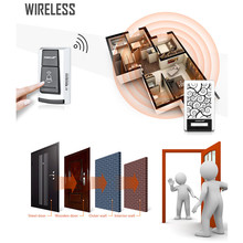 FORECUM 5 5F Smart Wireless Doorbell Waterproof with Receivers 36 Chimes Battery Door Bell button 100m Range for Home Office