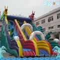 Inflatable Biggors Пвх Надувные Сухой Слайд Коммерческого Класса