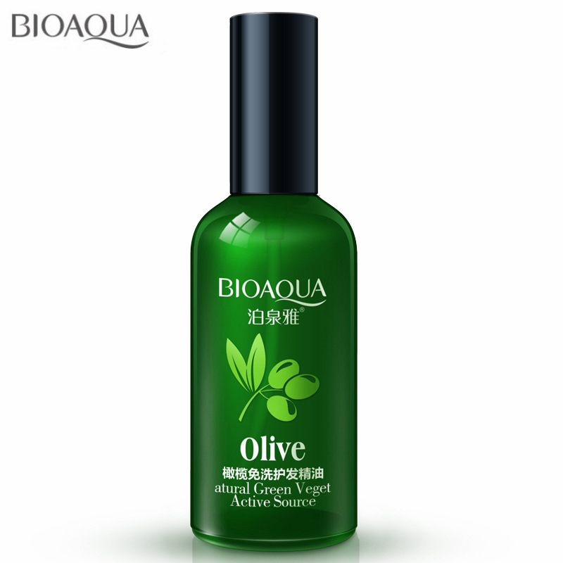 Disposable Olives Hair Essential Oils Scalp Treatment Hair Conditioner for Dry and Damaged Hair Dyed Curly Straight Hair Care image