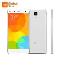 Original Xiaomi Mi 4 Mi4 M4 3GB RAM WCDMA Mobile Phone Snapdragon 801 Quad Core 16GB ROM 5.0
