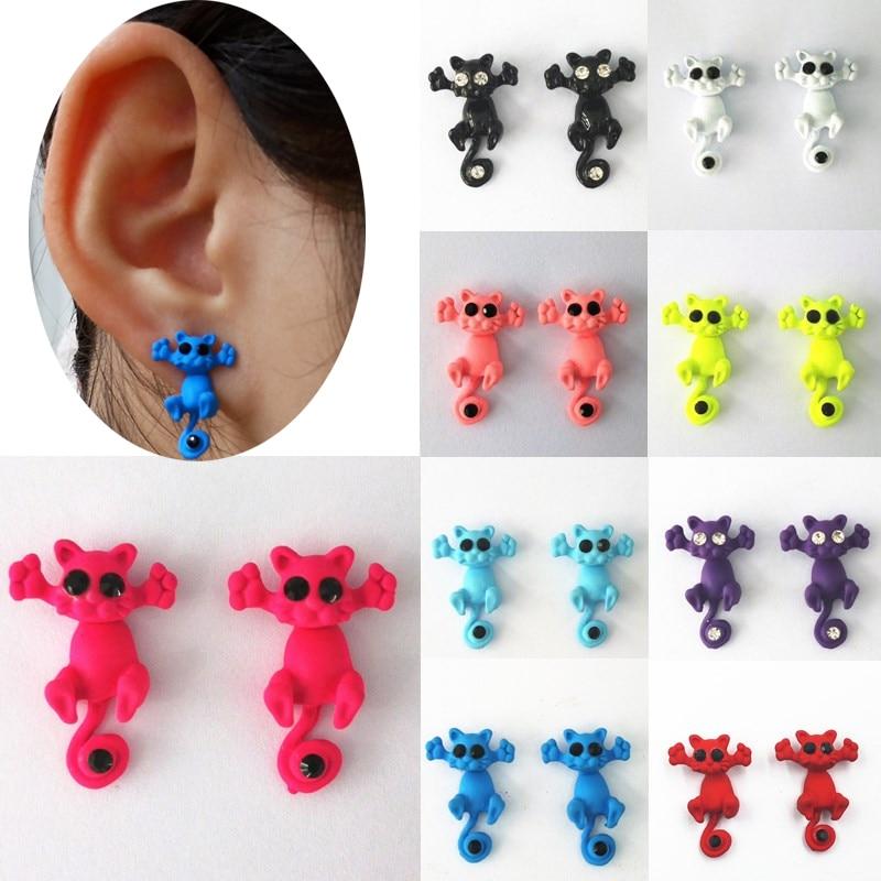 boucle d'oreilles 3d