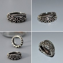 ancient silver Octopus ring Handmade retro animal ring in jewelry  birthday surprise gifts hand rings for women Black Friday