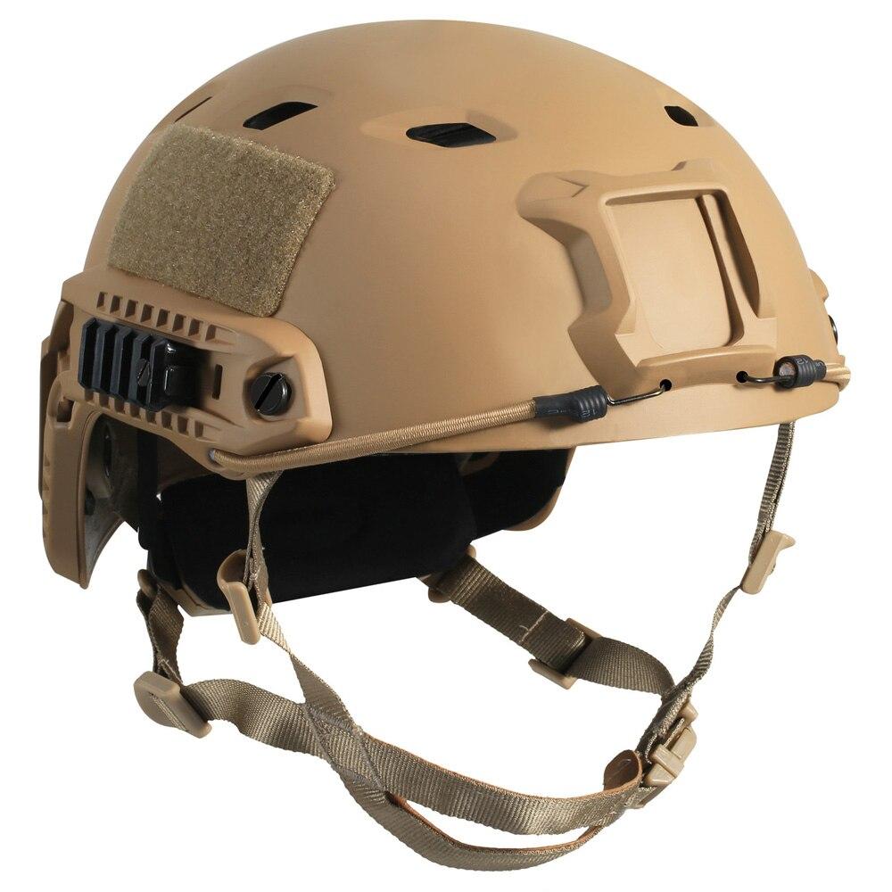 Тактический шлем Airsoft Пейнтбол Шестерни спорта на открытом воздухе защитная с Ночное видение Крепление подходит фары Камера