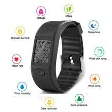 Hesvit S3 Оригинальные спортивные fitnesstracker браслет данных напоминание шагомер сердечного ритма браслет Best для IOS Android