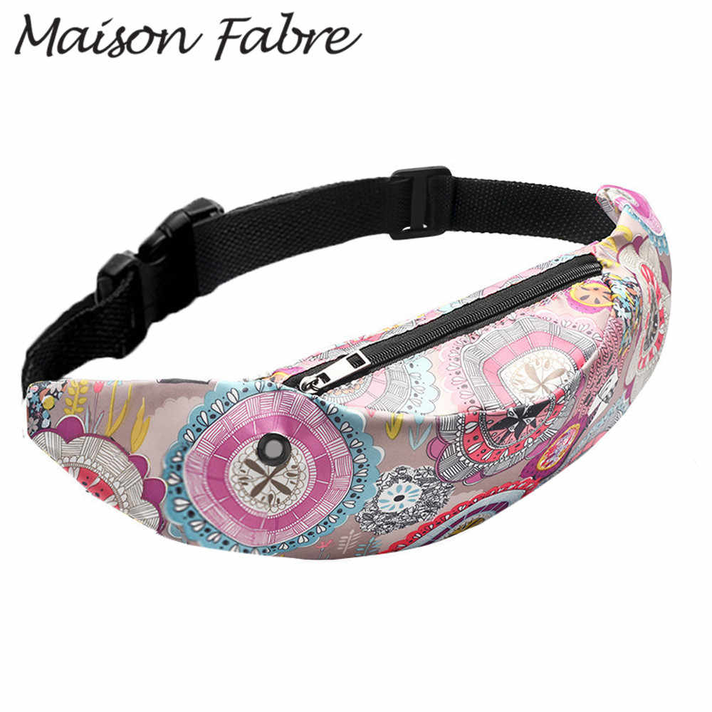 Maison Fabre Tas Pria Wanita Nilon Tas Dada Kartun Tahan Air Tas Bahu Tali 2019 Musim Panas Fashion Wanita Olahraga Sabuk Tas