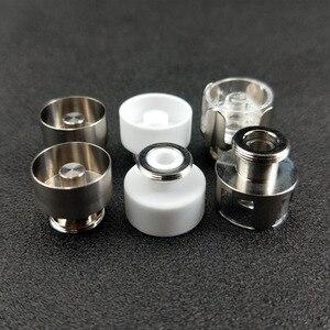 Image 2 - 3pcs 12mm Quartz Ceramic Titanium Heating Coil Cup Bowl Chamber for Greenlightvapes G9 510 Nail Enail Henail Plus TC Port Pen
