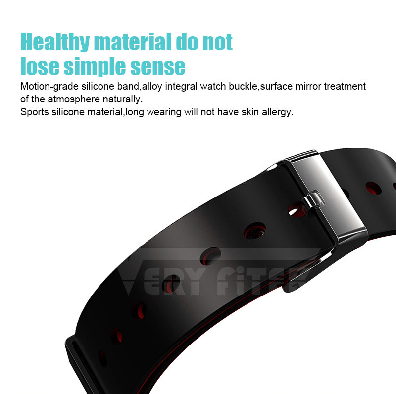 VERYFiTEK Smartwatch Blood Pressure Heart Rate Monitor Men Women Sport Watch Pedometer Stopwatch Smart Watch for IOS Android (7)
