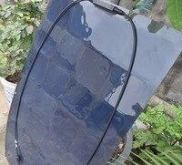 BOGUANG фотоэлектрических 100 Вт 18 В Черный Гибкий Панели солнечные солнечный модуль моно ячейки комплект колесах яхты кемпинг Прокат открытый