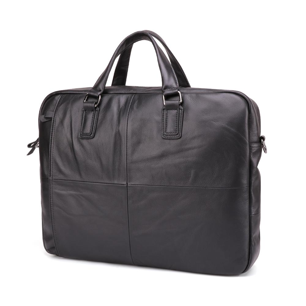 السفينة حرة الرجال حقائب المحامي حقيبة جلد طبيعي خمر محمول حقيبة حقيبة ساع عارضة حقيبة رجالية للمستندات-في حقائب جلدية من حقائب وأمتعة على  مجموعة 2
