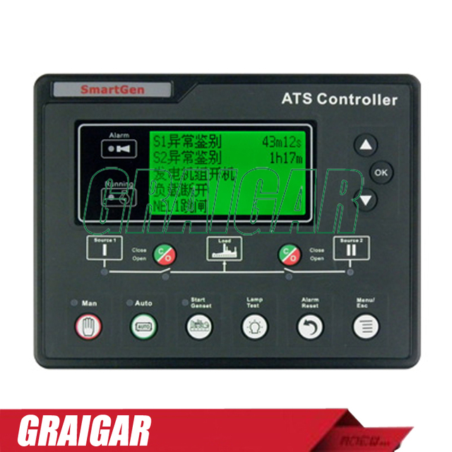 New SmartGen HAT700 ATS Controller for Generator_640x640 aliexpress com buy new smartgen hat700 ats controller for smartgen controller wiring diagram at alyssarenee.co