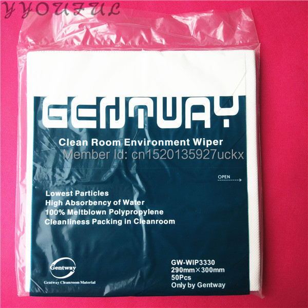 Back To Search Resultscomputer & Office Gentway Clean Room Wiper 290x300mm For Epson Dx2 Dx5 Dx10 Konica 512 Xaar 128 382 Hp Brother Printhead Cleaning Kit 50pcs/pack Office Electronics