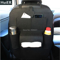 New 1Pcs Car Styling Auto Car Back Seat Boot Organizer Felt Covers Multi Pocket Storage Container