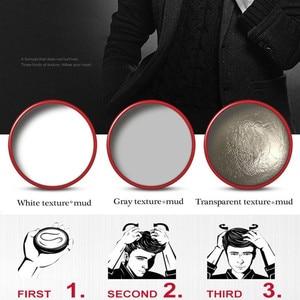 100 г мужской дизайн декоративная накладка паста Крем гель для волос Макияж натуральный воск для создания причесок матовый стойкий воск для ...