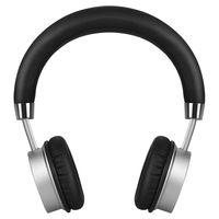 Top Deals IKANOO Silver Gold Aluminum Alloy K5 Bluetooth Wireless Headset Size 19 17 8CM