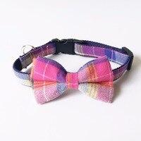 Pink PlaAdjustable Dog Leash Nylon Pet Leash Rope For Large Dogs Soft Dog Collar Set P