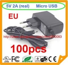 100pcs High quality IC 1PCS Model B 1GB Ras PI 2 Raspberry PI Power Adapter 5V2A Charger Power Adapter Banana BPI-M1+,BPI-M1 EU