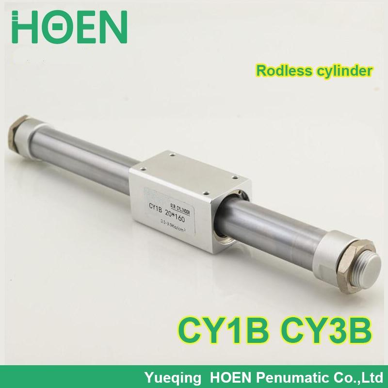 CY1B20-400 CY1B20-400 Rodless cylinder 20mm bore 300mm stroke high pressure cylinder CY1B CY3B series