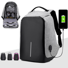 Multifunction USB charging Men Laptop Backpacks For Teenager School Bag Mochila Male Leisure Travel backpack anti thief Gym Bags