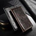 CaseMe Бренд Кожаный Бумажник Case для LG G4 G5 С Подставкой магнитный Авто Флип Кожаный Чехол для LG G4 H818 H810 H815