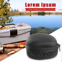 F49 EVA Portable Fishing Reel Bag for Drum Reel Fishing Tackle Accessories