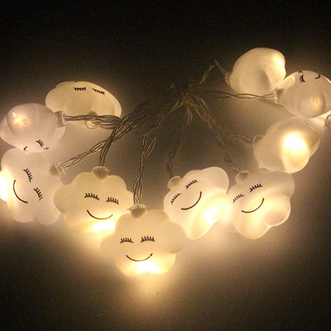 Christmas Lights Outdoor 1.5m 10LED String Lights Garden Light for Home Wedding Party De ...