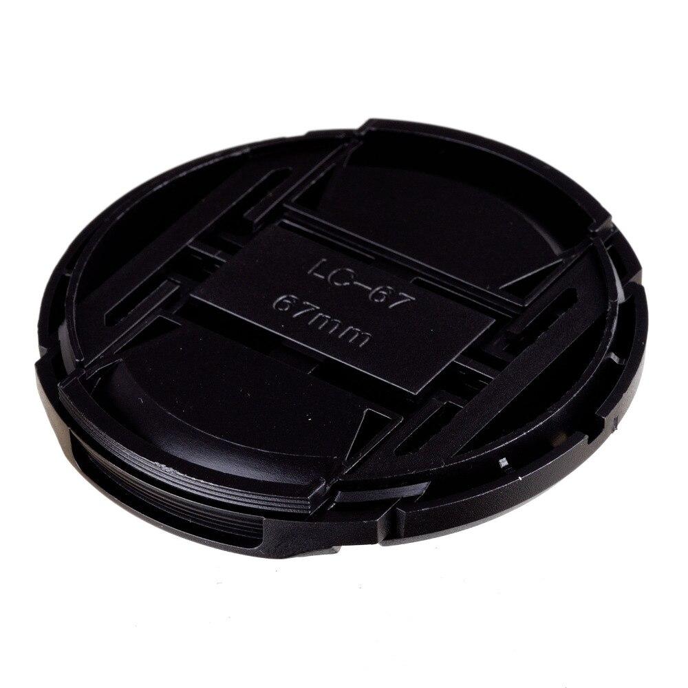 Nouveauté 50 pièces 67mm couvercle de capuchon d'objectif avant à pression pour lentille Sigma de caméra livraison gratuite