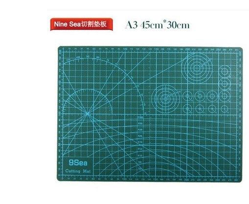 A3 olfa gridded cutting mat set 45cmx30cm clipped olfa a3 for Cutting mat for crafts