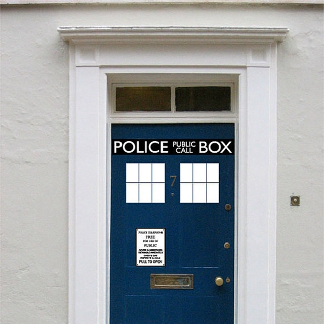 Fashion Cool Police Box door decal vinyl sticker Dr. Who Doctor Style For Door  sc 1 st  AliExpress.com : doctor door - pezcame.com