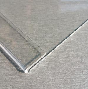 Image 5 - الجملة واضح T2mm A4 A5 البلاستيك الاكريليك تسجيل عرض عرض ورقة تعزيز مفارش طاولة بألوان متعددة تسمية أصحاب L حامل أفقي 500 قطعة