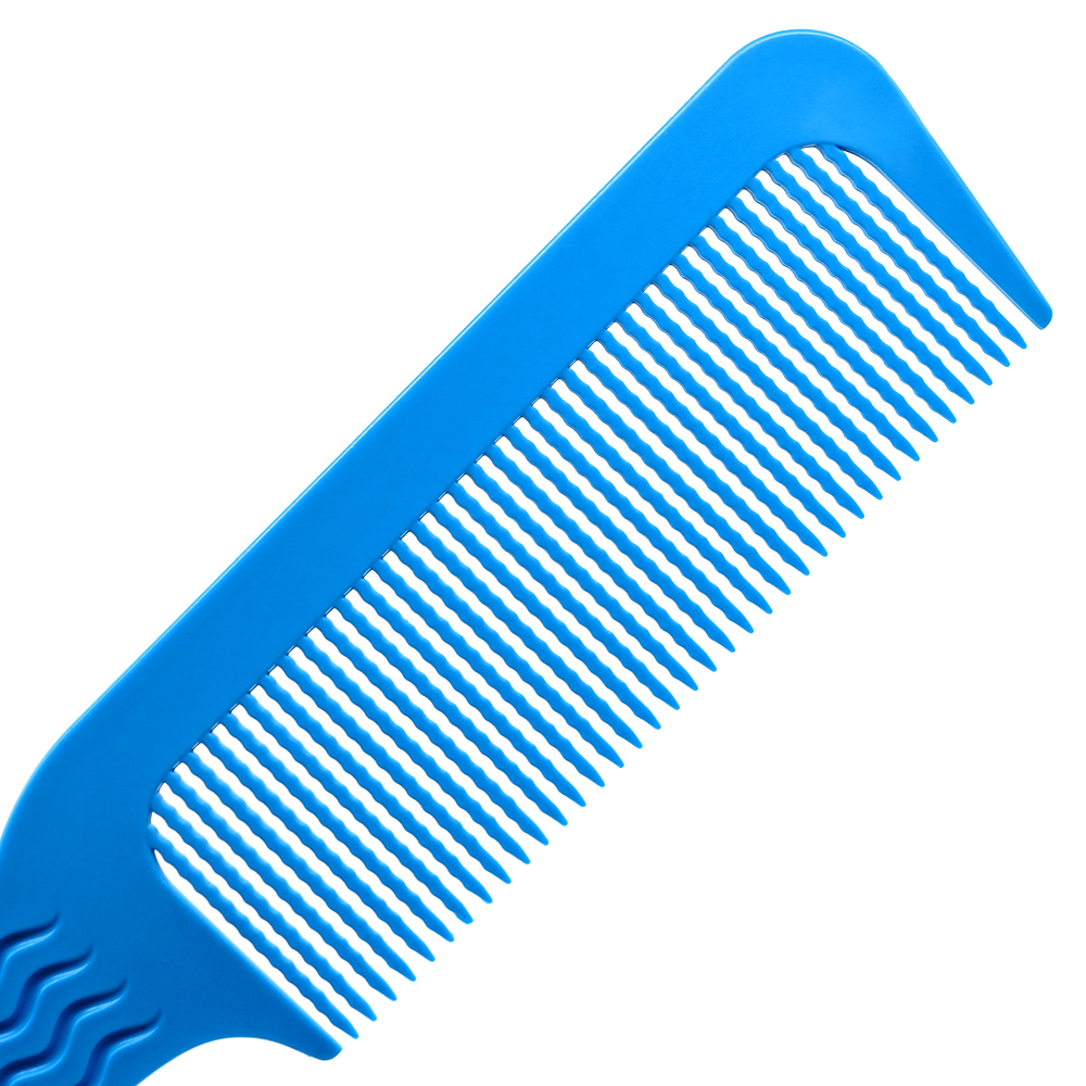 Купить с кэшбэком Pro 1 Pcs Carbon Antistatic 3D Hairdressing Clipper Comb Anti Slide Handle Barber Haircut Comb Stick Hair For Professional Use