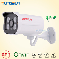 Security IP Camera POE 720P 960P Surveillance CCTV 4 IR Array LED Aluminum Bullet Metal Waterproof