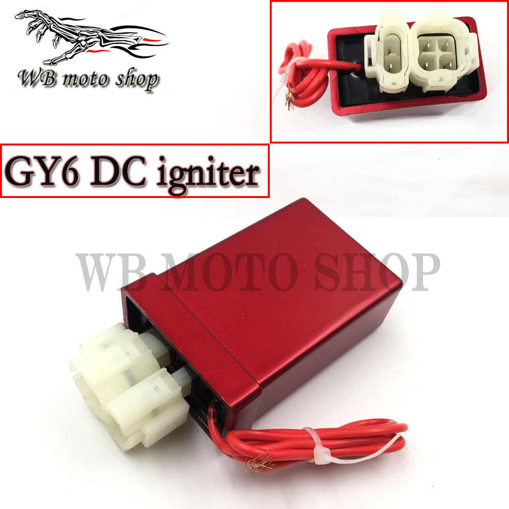performance 5 pin digital no adjustable dc racing cdi box ignition coil for  gy6 125 150cc
