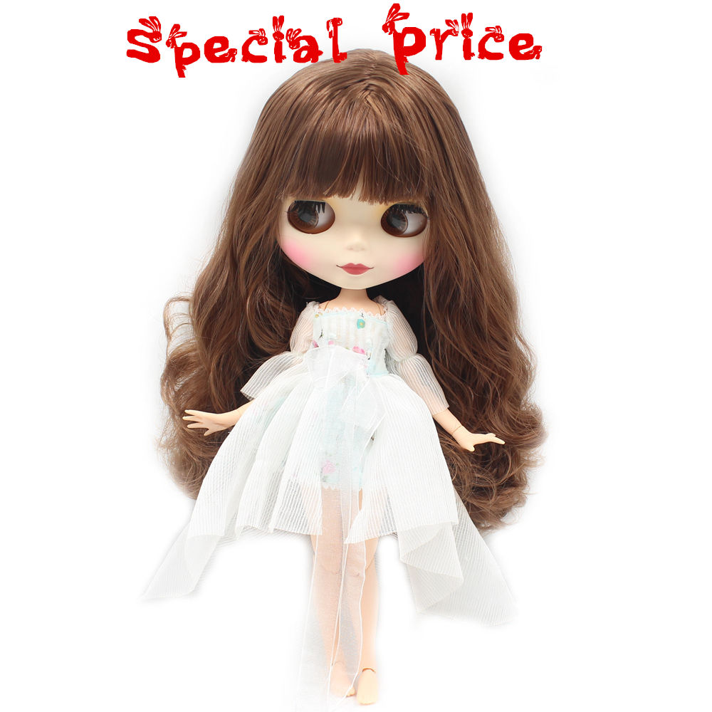 ICY Nude Blyth Factory doll Suitable For Dress up by yourself DIY Change BJD Toy For Girls special price