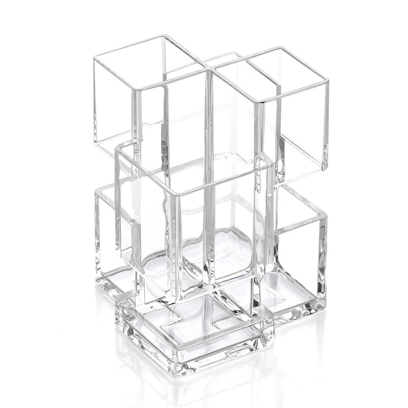 Transparente Acryl Vitrine Fach Staubdicht Storage Show Box 15x15x25cm Action- & Spielfiguren