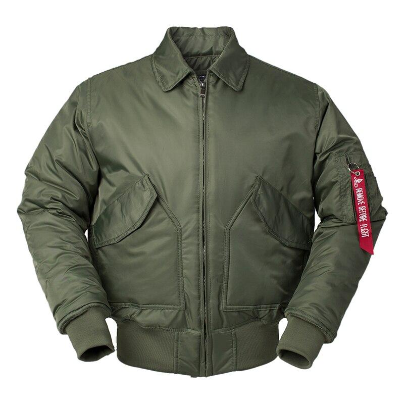 Black Veste Air 45p green Hommes Puffer Nylon navy Plus Thick Thick Hiver Bomber Étanche Cwu Vol Letterman 2018 Hip Taille Manteau Pilote Force Us Rembourré Hop Thick Yq1PxwE