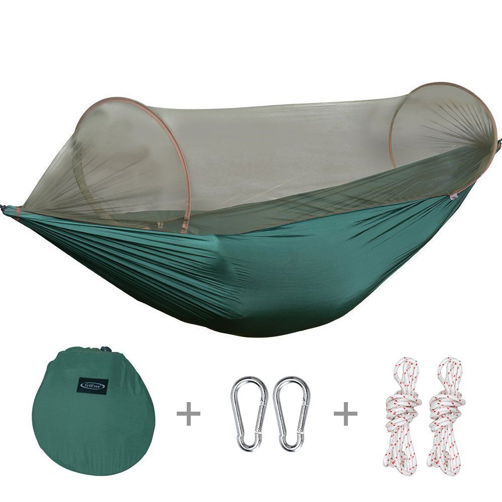 Smartlife Portable & Foldable Camping Hammock Mosquito Net Hammock Tent Hiking Camping Hammock and Tent (110x50 Inch) portable camping hammock tent rope furniture hammock for room