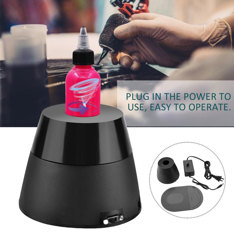 New 220v Electric Tattoo Pigment Ink Mixer Color Blender Tattoo Accessories Shainkg Ink Pigment Permanent Makeup Tools Supplies
