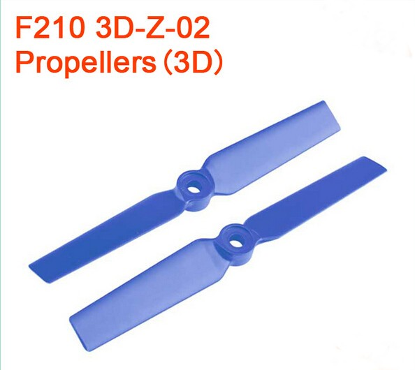 F18856/7 1Pairs Walkera F210 3D Edition Racing Drone Spare Part F210 3D-Z-01 (2D) / F210 3D-Z-02 (3D) Propellers CW CCW