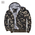Camouflage Mens jackets 2016 with Hat 100% Cotton for Autumn Winter Coat Military Jacket Manteau Homme Militar Man Clothing