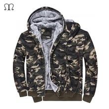 Camouflage Herren jacken 2016 mit Hut 100% Baumwolle für Herbst Winter Mantel Militärischen Jacke Manteau Homme Militar Mann Kleidung