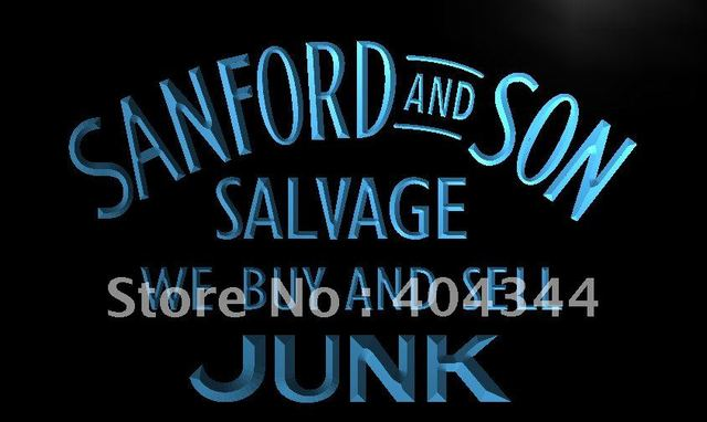 Lc207 Sanford And Son Buy Sell Junk Led Neon Light Sign Home Decor
