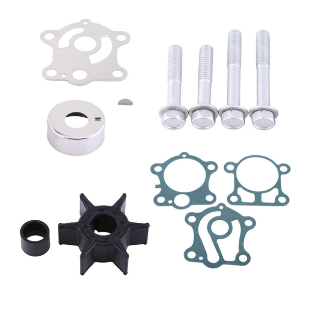 Keenso Water Pump Repair Rebuild Impeller Kit For Yamaha 2 stroke outboard engines