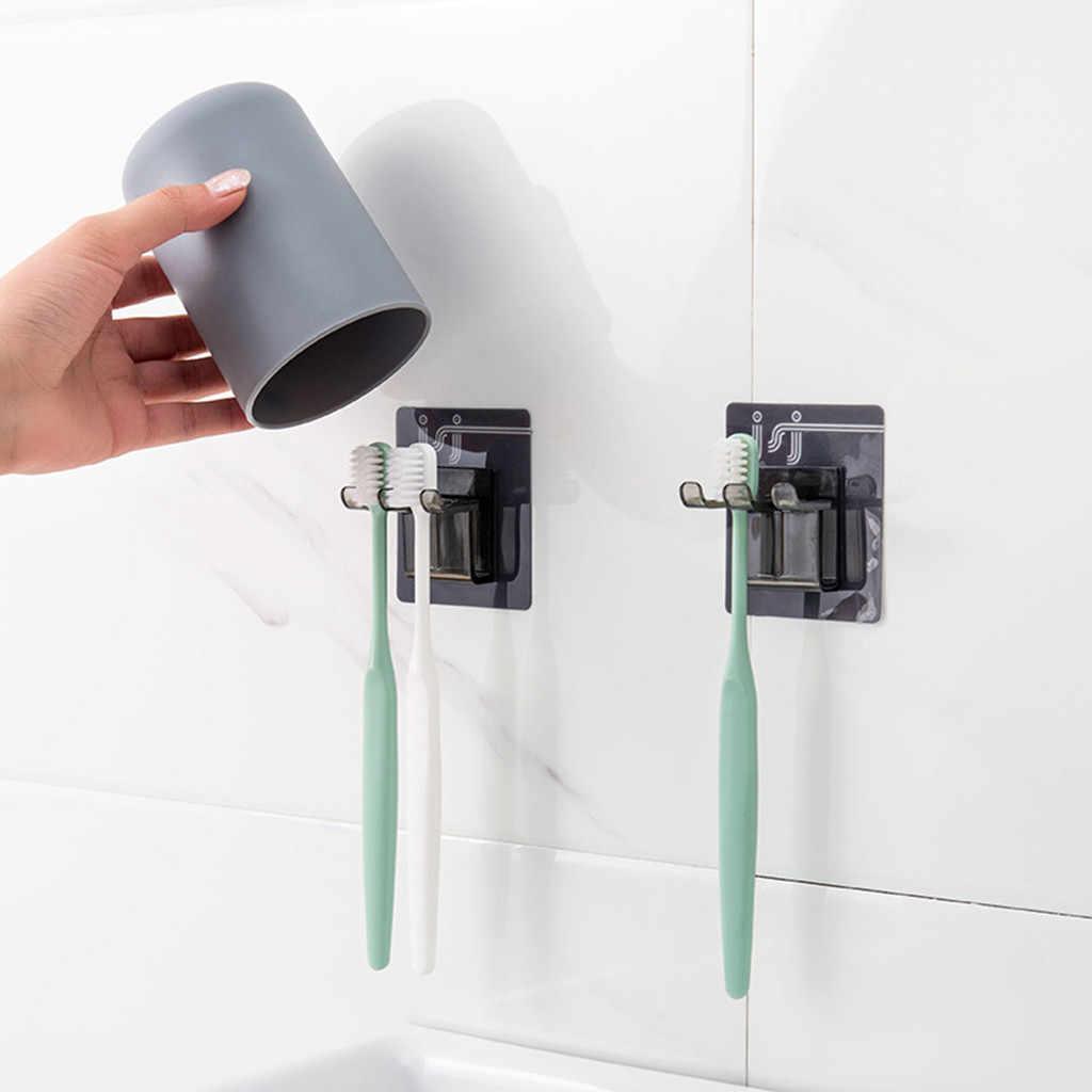Новый подвесной ящик для кухонной утвари для ванной комнаты, стеллаж для хранения зубных щеток, настенный крючок на присоске, органайзер для ванной комнаты и кухни